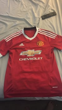 red and white Adidas jersey shirt Irving, 75061