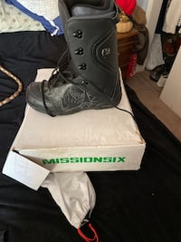 Mission 6 snowboard boots size mens 12