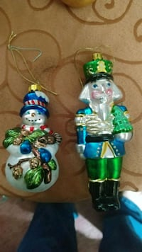 Glass Christmas ornaments Hagerstown, 21742