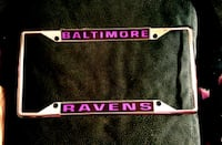 Ravens Chrome License Plate Holder 71 km