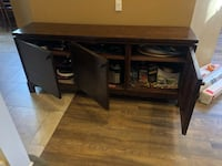 Rustic solid wood dining room buffet Mission Viejo, 92692