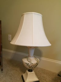 white and brown table lamp North Augusta, 29860