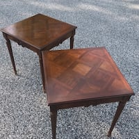 Pair vintage French style carved tables Chester Heights, 19342