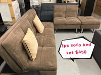 Brand new 3pc sofa bed set winter sale 多伦多, M1V 1E8