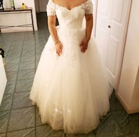 Brand new with tag wedding dress