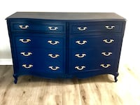 Painted French Provincial Dresser Navy Blue Arlington, 22206