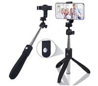 Brand Seal New In Box Selfie Stick Bluetooth Extendable Selfie Stick with Wireless Remote and Tripod Stand Selfie Stick for iOS & Android Hayward, 94544