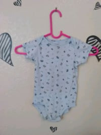 baby boy onsie blue and white with dog print Sacramento, 95824