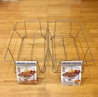 2 Skorr stainless steel wire chafing stands Reston, 20191