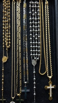 Stainless Steel Rosary & chains with pendants Mississauga, L4T 2T9