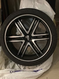 $350 set of rims and tires London, N6A 1Y6