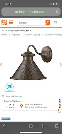 1 outdoor home collection lantern light Franklin, 37067