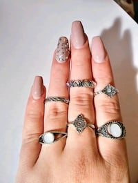 LeFlaire Vintage Bohemian Knuckle Rings For Women Stackable Midi Ring  Milwaukee