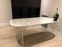 Dining white table