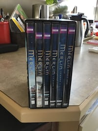black and gray DVD case lot 3156 km