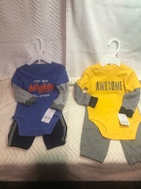 Brand new 6-9 months Carter outfits for boys Vallejo, 94589