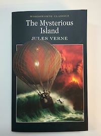 The Mysterious Isand di Jules Verne in inglese
