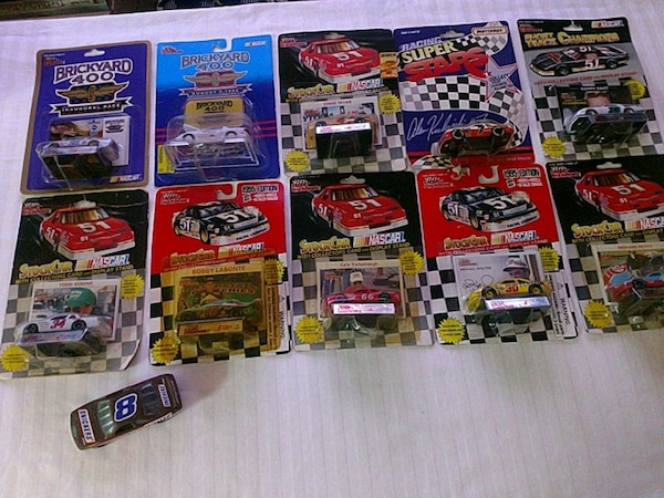 NASCAR Racing Champions die cast cars