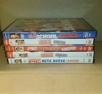 American Pie Dvd Lot Unrated Movies