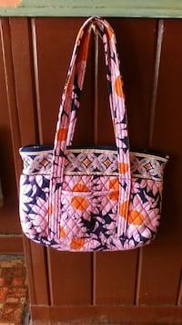 white and pink floral tote bag Fayetteville, 37334