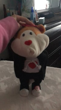 white and red bear plush toy Coquitlam, V3B 0H2