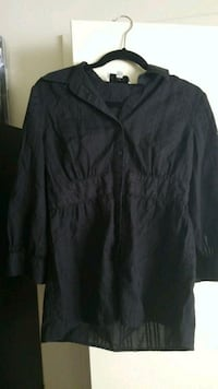 black button-up long-sleeved shirt Wilmington, 28403