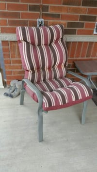 5 Adjustable Patio Chairs with Cushions Brampton, L6P