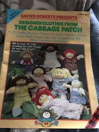 Cabbage Patch Clothes Pattern Ceresco, 49068