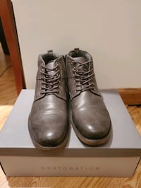 Restoration Russell grey boots