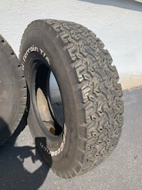 2 All terrain BFgoodrich tires  Clifton, 07013