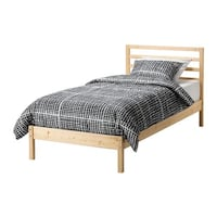 IKEA twin bed frame and slatted base