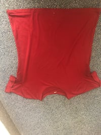 women's red v-neck shirt San Diego, 92106