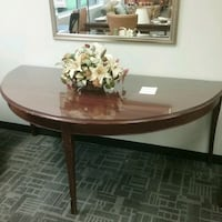 Demi Lune table with Glass top Oakville, L6L 5N1