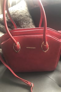 Large red tote Edmonton, T5Y 0A3