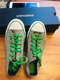 pair of green Converse All Star low-top sneakers Edmonton, T6L 5T2