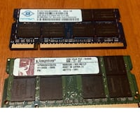 2 GB DDR2 NOTEBOOK RAM