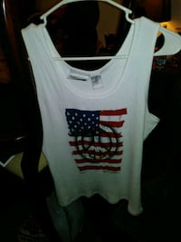 Paeace & flag tank top Lincoln, 68502