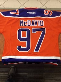 Connor McDavid Jersey 100% Authentic