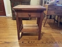 Mission style end table with drawer...heavy   Fairfax, 22033