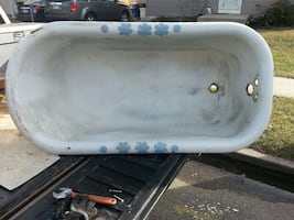 Antique Cast Iron Tub