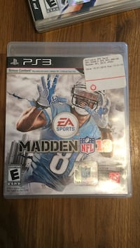 madden nfl 13 ps3 game case New Orleans, 70122