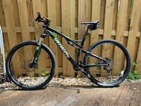 Black and green specialized Epic comp 29er Springfield, 22153