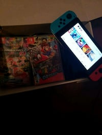 Nintendo switch with 4 games  Elkhart, 46514
