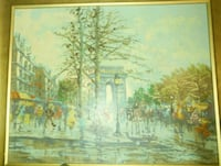 Oil painting F. Laval Montreal, H4L 2V5