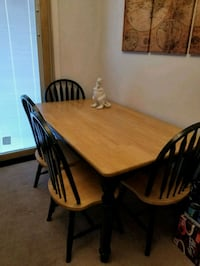 Solid wood dining table set Gaithersburg, 20886