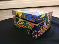Hand painted wooden box...!! Perfect gifting item  Edmonton, T6H 4R8
