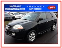 2002 Acura MDX Touring Sport Utility 4D Vancouver