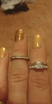his and her promise and wedding ring Calgary, T1Y 5C9