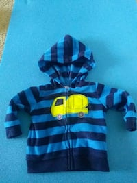 black and gray stripe zip-up hoodie Orlando, 32835