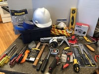 Large Lot of Tools With Plastic Toolbox Some New $50 for all Manassas